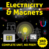 Electricity and Magnetism Unit - COMPLETE UNIT NO PREP!