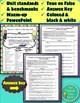 Electricity and Magnetism Unit Pre-Assessment (Unit cover and Presentation)