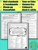 Electricity and Magnetism Unit Pre-Assessment (Unit cover