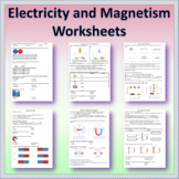 Electricity and Magnetism - Worksheets   Printable and Dis