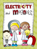 Electricity and Magnets Unit - Includes Power Point, Projects, & Printables!