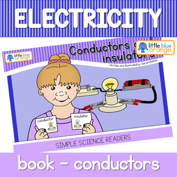Electricity - conductors and insulators - book (simple)