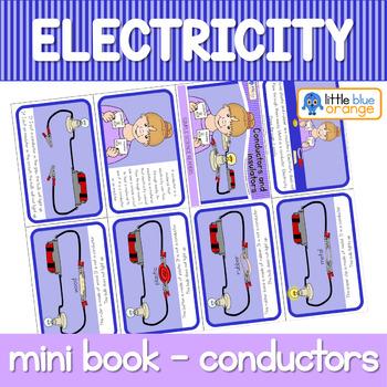 Electricity - conductors and insulators - mini book