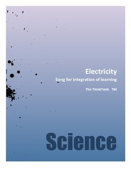 Electricity- integrated lesson you teach once and will use everyday!