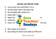 Electricity mini-investigations Lesson plan, Writing grame and Instructions