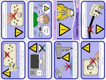 Electricity safety mini book