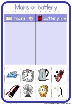 Electricity Worksheets By Little Blue Orange Teachers