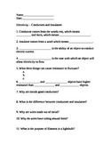 Electricity/Electromagnetism: worksheets, study guides, tests