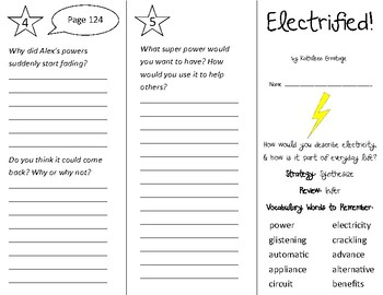 Electrified! Trifold - 3rd Grade Literacy by Design Theme 4