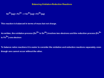 Electrochemistry Explained - Chemistry Review (Presentation & Handout)