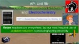 Electrochemistry and Redox PowerPoint