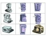 Electrodomesticos de la Cocina:  Spanish Kitchen Appliances
