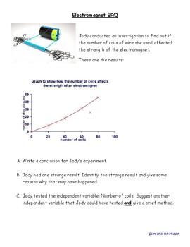 Electromagnet Extended Response Question (KY, ERQ, KPREP)