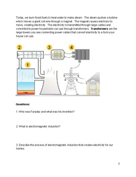 Electromagnetic Induction Reading
