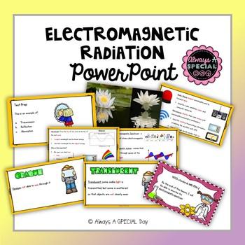 Electromagnetic Radiation and Light BUNDLE