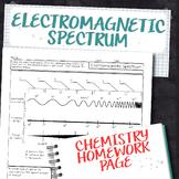 Electromagnetic spectrum worksheet chemistry