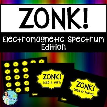 Electromagnetic Spectrum Game - Zonk!