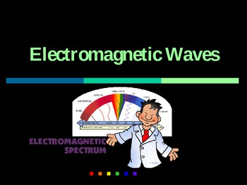 Electromagnetic Spectrum Notes and Drawing Assignment