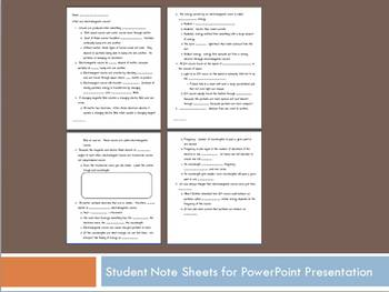Electromagnetic Spectrum:  PPT w/student notes and 2 handouts