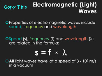 electromagnetic spectrum powerpoint wavelength frequency energy. Black Bedroom Furniture Sets. Home Design Ideas