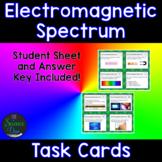 Electromagnetic Spectrum Task Cards