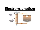 Electromagnetism and D.C. Motors Worksheets and Answers