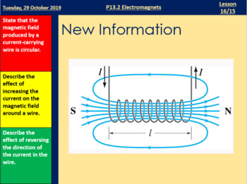 Electromagnets - Fully Resourced Lesson