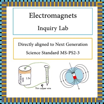 Electromagnets Inquiry Lab NGSS MS-PS2-3