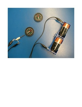 Electromagnets Lab/Activity Electricity Magnetism (Word &PDF)