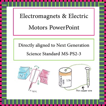 Electromagnets and Electric Motors Intro PowerPoint NGSS MS-PS2-3