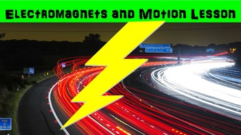 Electromagnets and Motion No Prep Lesson w/ Power Point, W