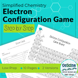 Electron Configuration Activity Game
