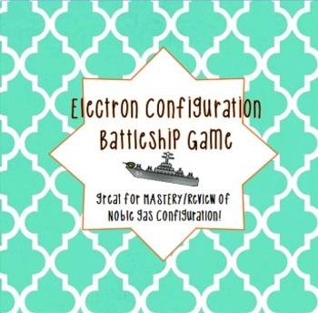 Electron Configuration Chemistry Battleship