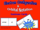 Electron Configuration & Orbital Notation Dominoes Cards: 2 Sets