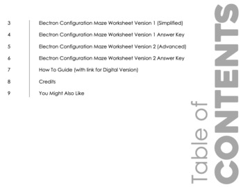 Electron Configuration Maze Worksheet for Review or Assessment | TpT