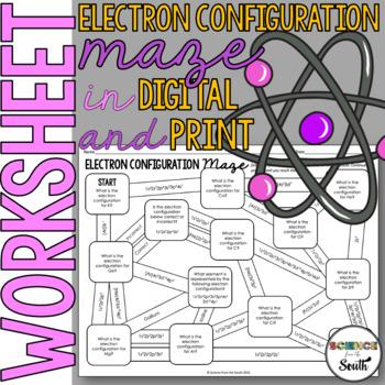 Electron Configuration Activity & Worksheets | Teachers Pay Teachers