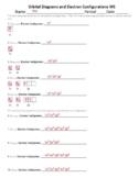 Electron Configuration Practice Worksheets (Bundle of 3)