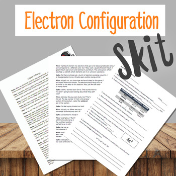 Electron Configuration Skit