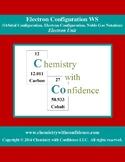 Electron Configuration WS (Orbital/Electron/Noble Gas Conf