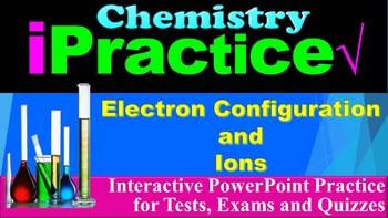 Electron Configuration and Ions: iPractice (Interactive PP