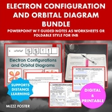 Electron Configuration and Orbital Diagram Bundle: Ppt and