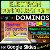 Electron Configurations DIGITAL DOMINOS for Google Slides