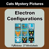 Electron Configurations - Mystery Pictures - Cats