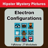 Electron Configurations - Mystery Pictures - Hipsters