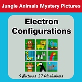 Electron Configurations - Mystery Pictures - Jungle Animals