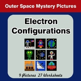 Electron Configurations - Mystery Pictures - Outer Space