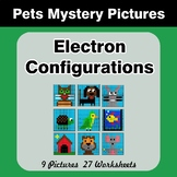 Electron Configurations - Mystery Pictures - Pets