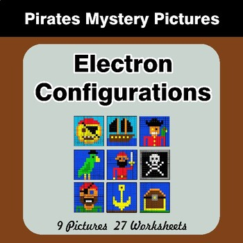 Electron Configurations - Mystery Pictures - Pirates