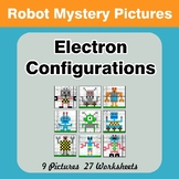 Electron Configurations - Mystery Pictures - Robots