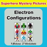 Electron Configurations - Mystery Pictures - Superhero